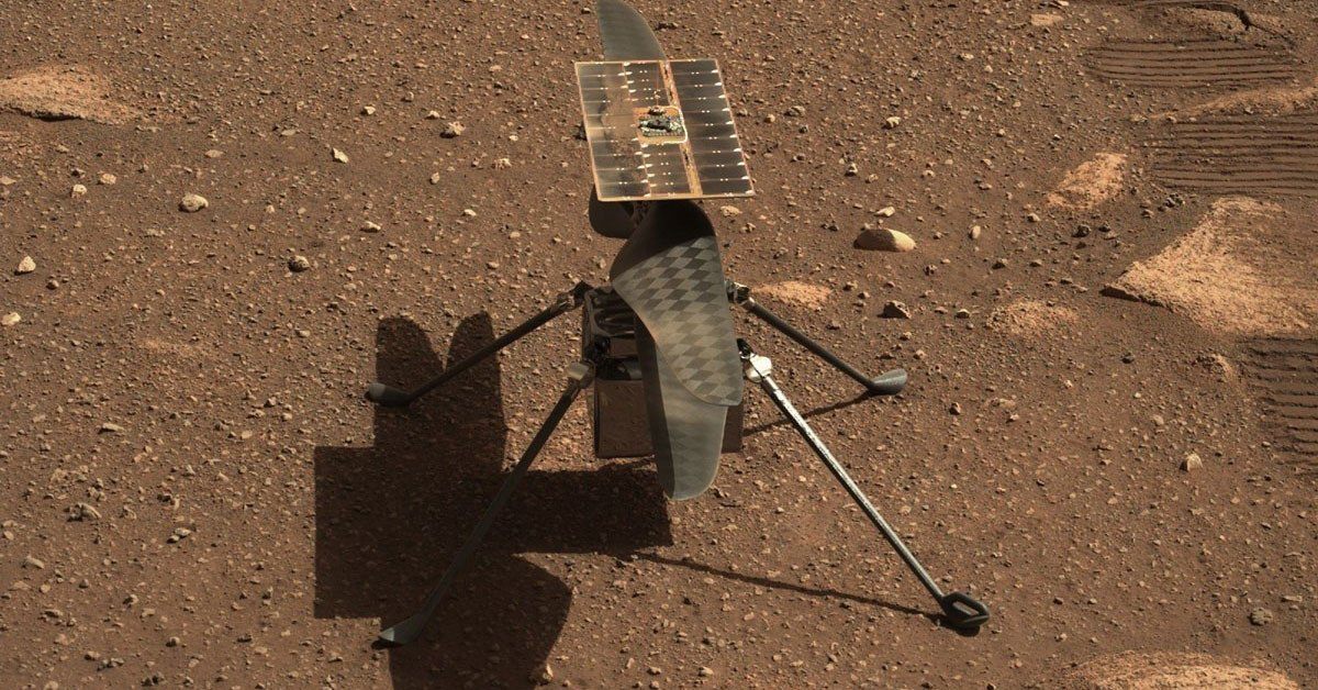 NASA will fly an innovation helicopter on Mars tomorrow morning
