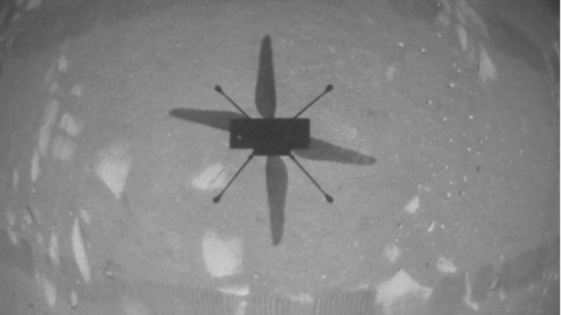 The Ingenuity made its first flight on Mars, an achievement compared to that of the Wright Brothers-Telam.