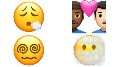 More emojis added in iOS 14.5