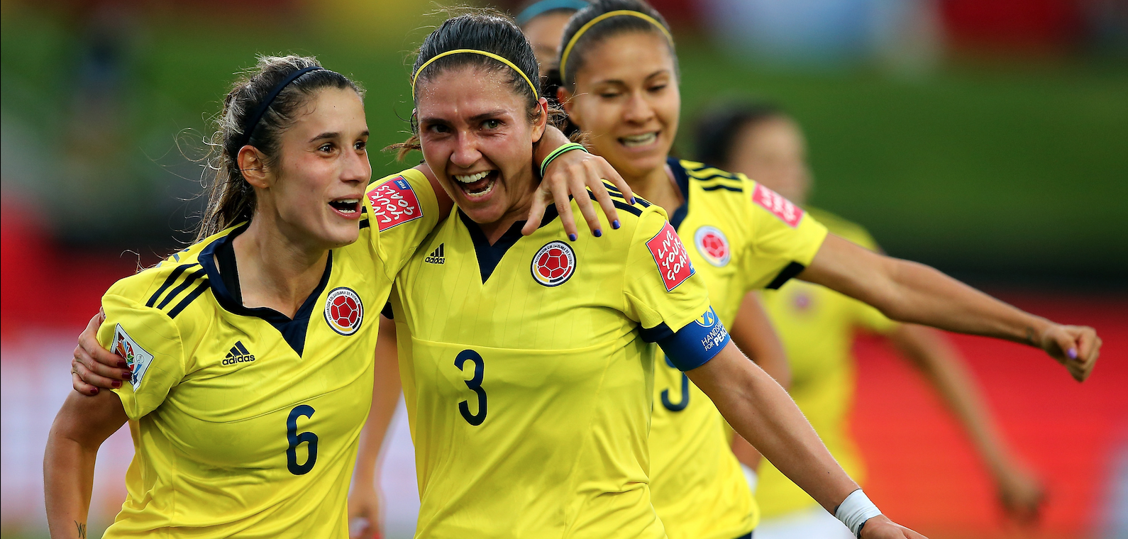 Natalia Gitan, captain of the Colombian national team, talks about women's football