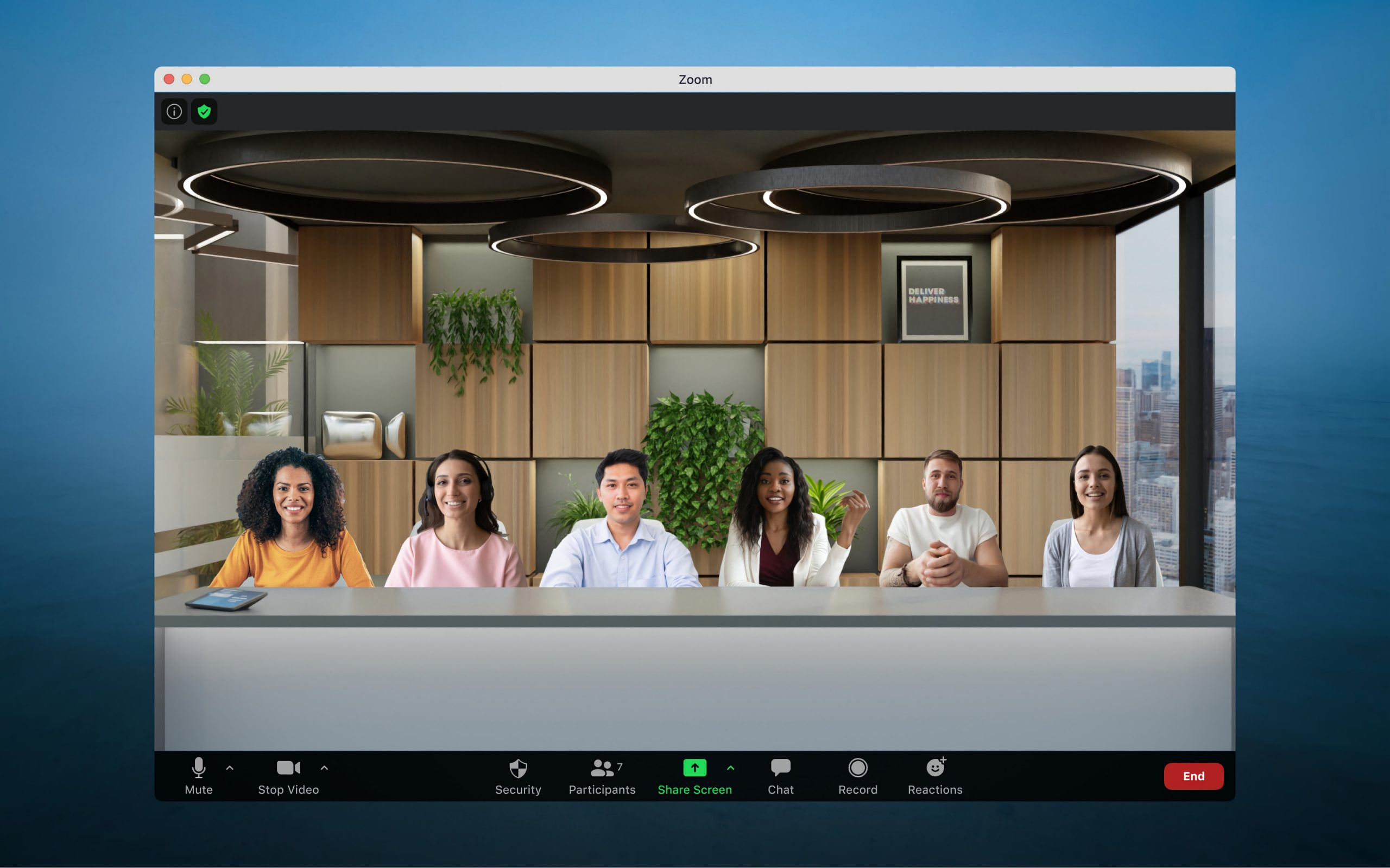 Zoom activates an option to make your video calling more fun