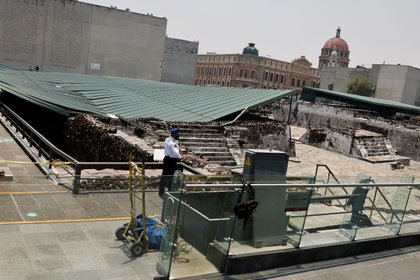 The four roofs of Templo's mayor will be restored (Photo: Reuters / Carlos Jasso).