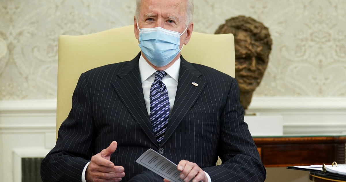 Biden is paving the ground for consensus on the infrastructure plan