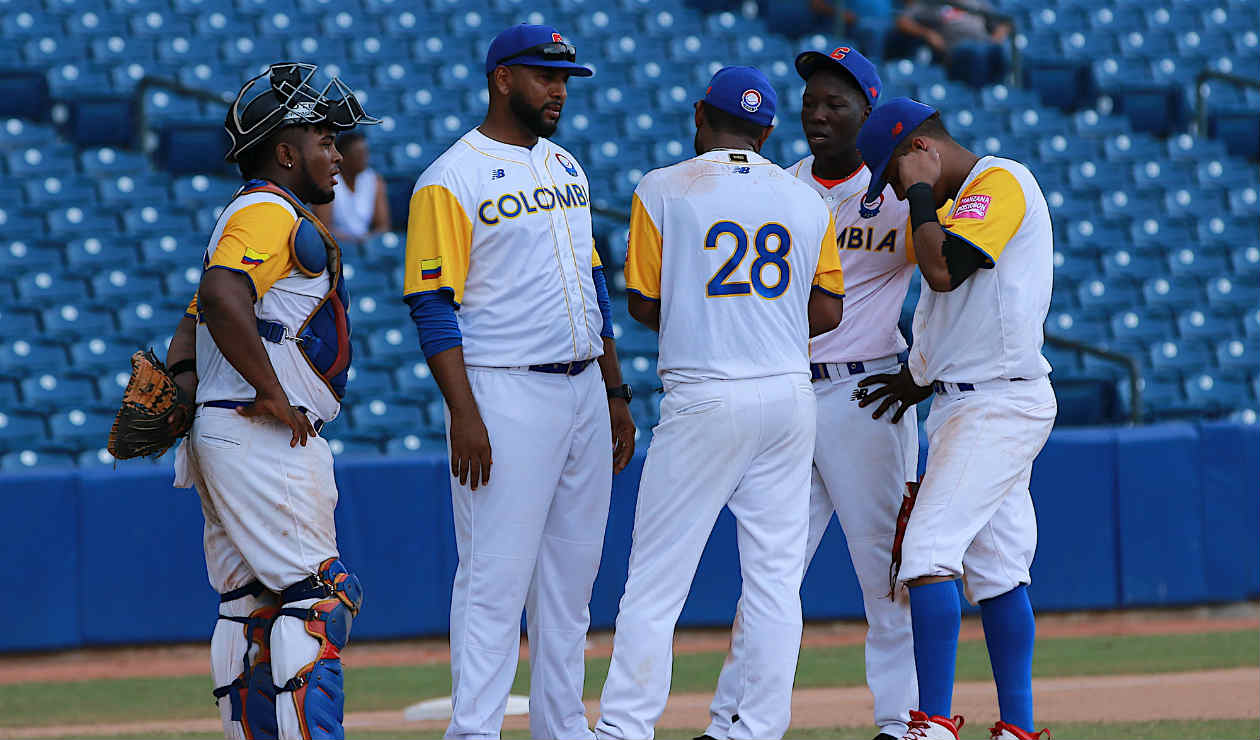 Colombia's calendar in pre-Olympic baseball for the Americas