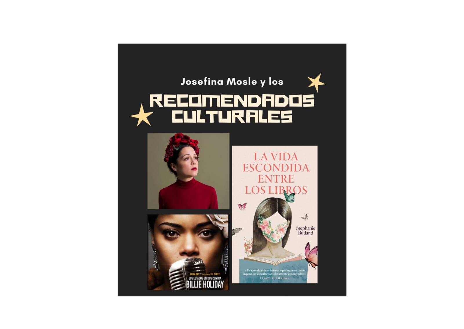 If you are looking for something that you can see, read and hear, Josefina Mosley gives you the recommended ones