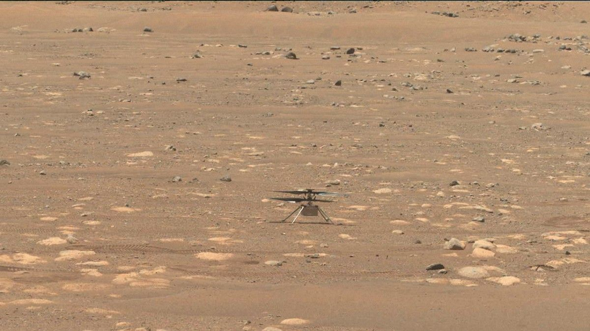 NASA is trying to innovate its first flight on Mars