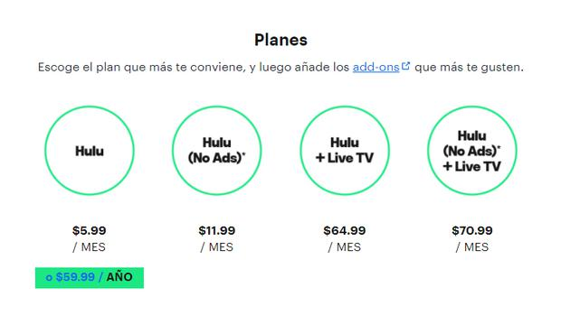 How much does Hulu cost.