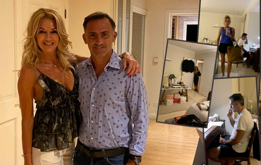 There is a video!  How fancy room Yanina and Diego Latorre share – Paparazzi Magazine
