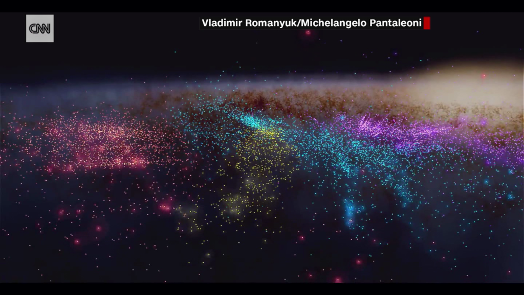 They discover a hidden structure in the Milky Way