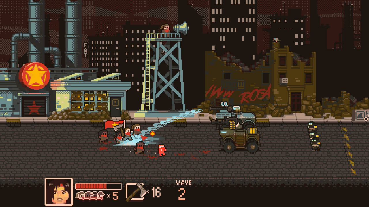 Lead a revolution with this retro action game, available free on GOG for a limited time