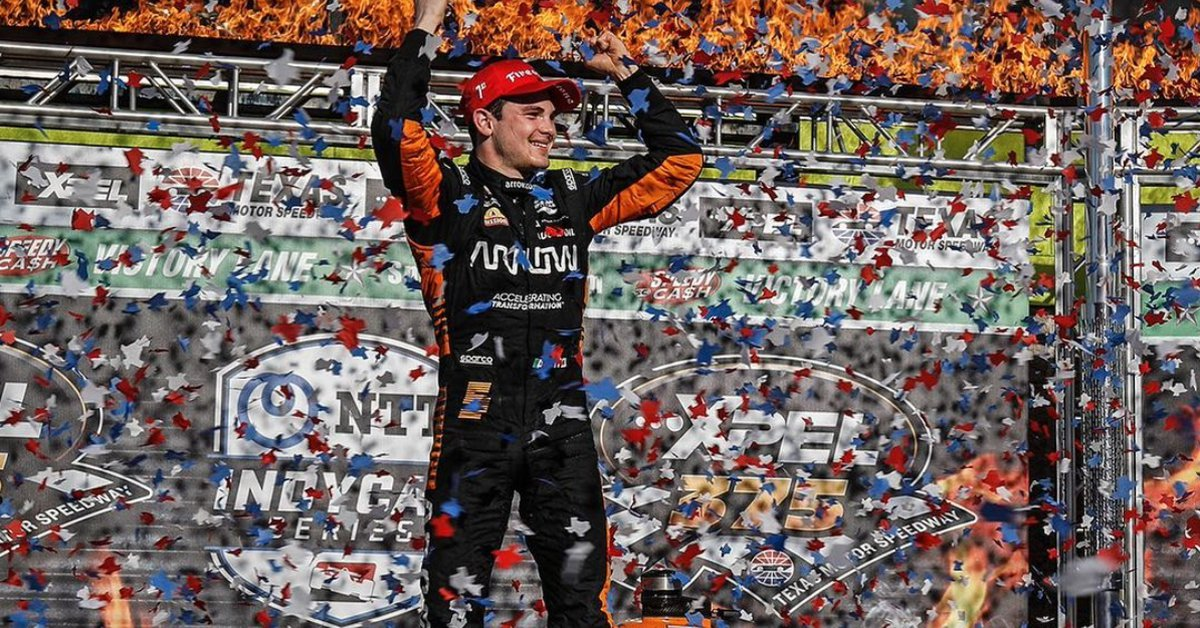 Patricio Oward, the Mexican driver who conquered IndyCar in the United States