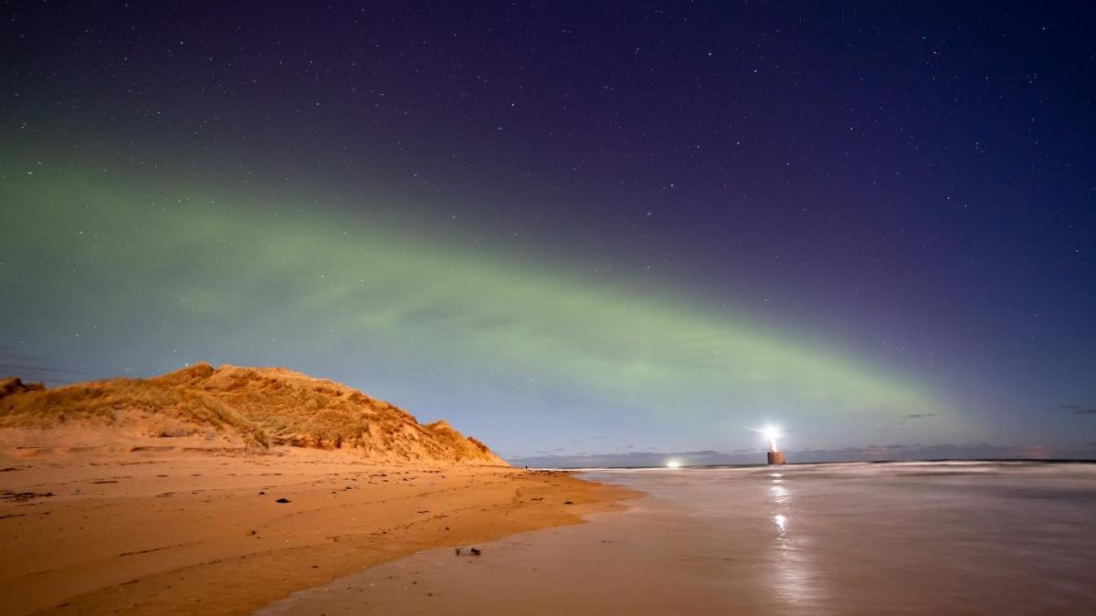 Scientific confirmation of the existence of the Northern Lights dunes