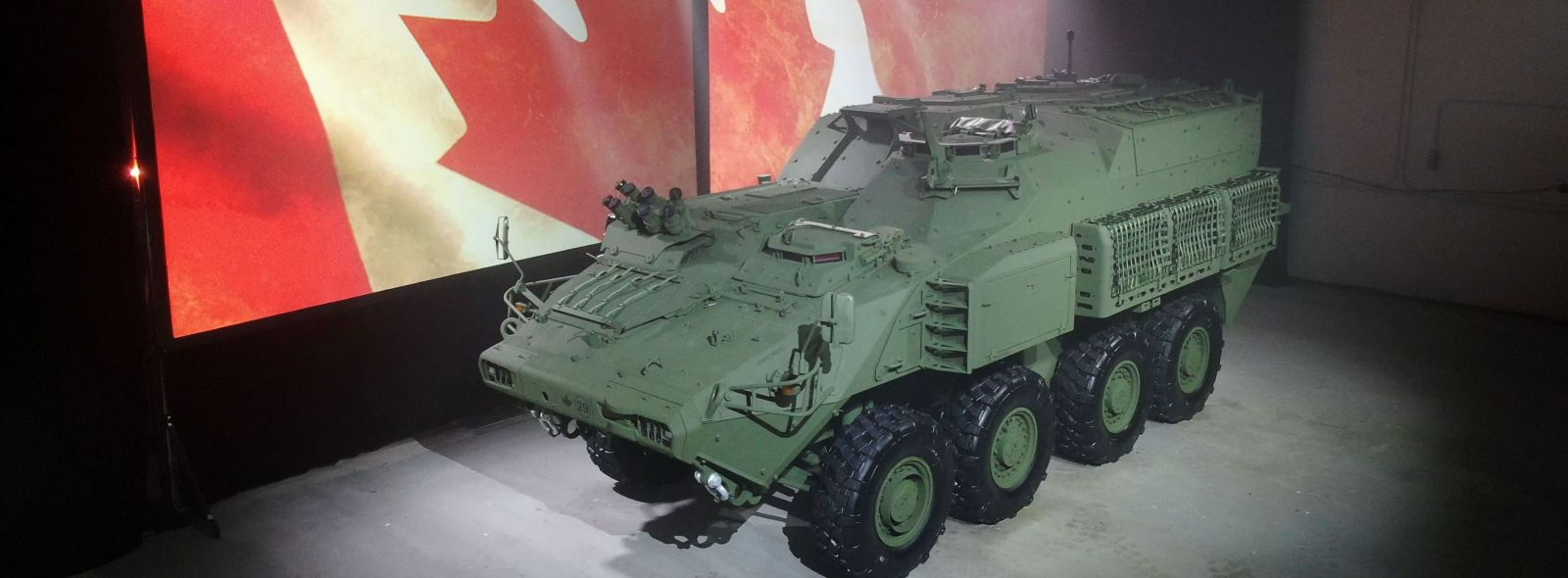 General Dynamics shows that the ACSV was developed for Canada