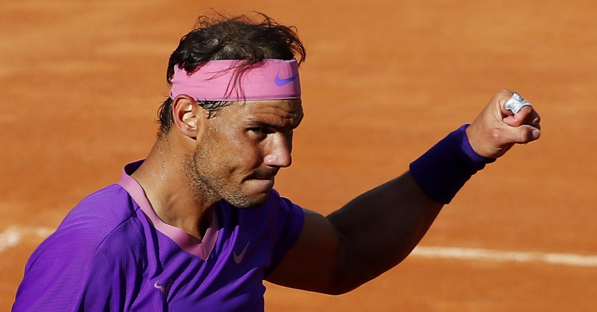 Rafa Nadal's Roma Show: He saved two match points in an epic three-and-a-half hour battle