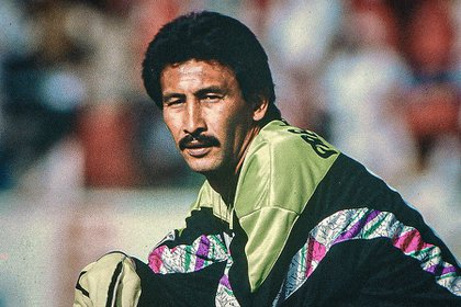 Pablo Larios Iwasaki was the goalkeeper of the Mexican national team during the 1986 World Cup in Mexico (Photo: Twitter @ ClubPueblaMX)