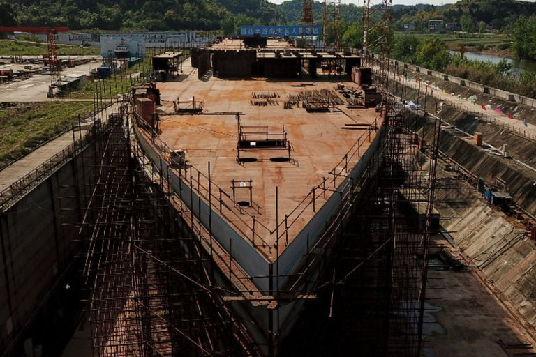Titanic sails again: a replica of the ship was built in China