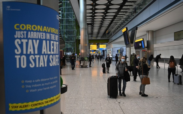 UK: 'Going abroad is dangerous, stay home'