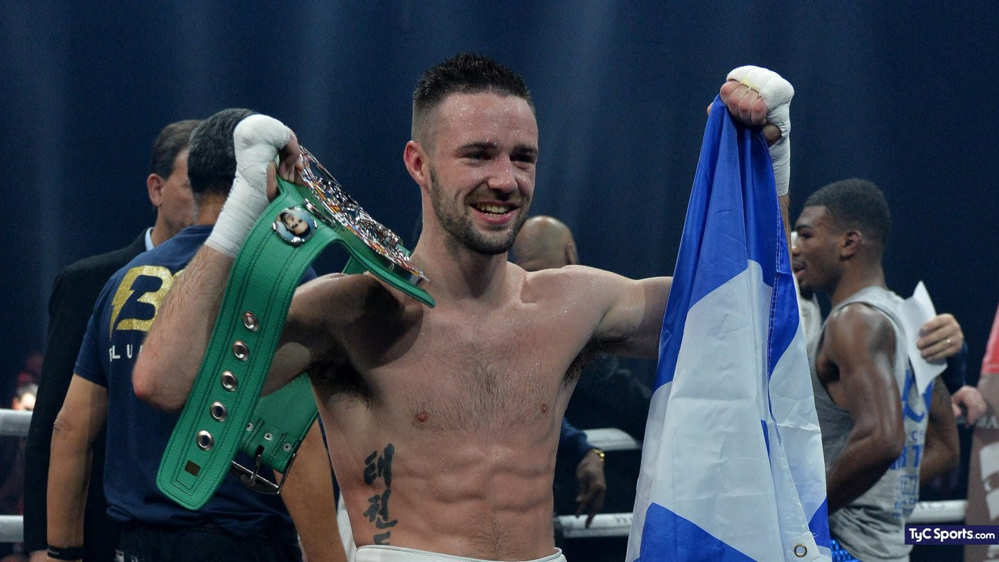 Josh Taylor, hot on his prognosis for a fight with Jose Ramirez