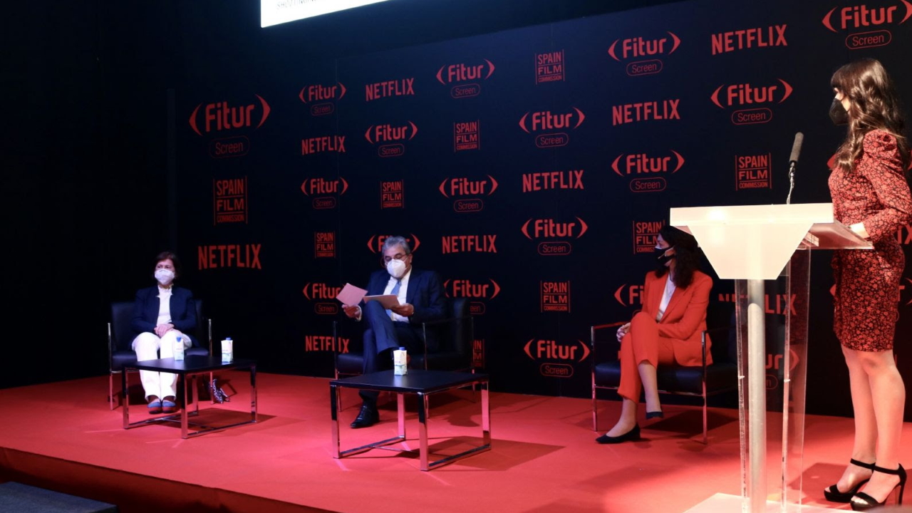 Netflix and UNWTO at FITUR SCREEN analyze the impact of Spanish production on tourism