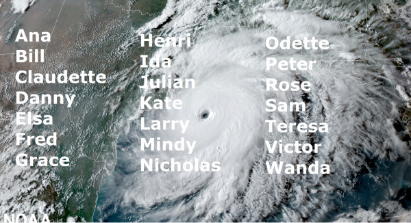 These will be the hurricanes of 2021