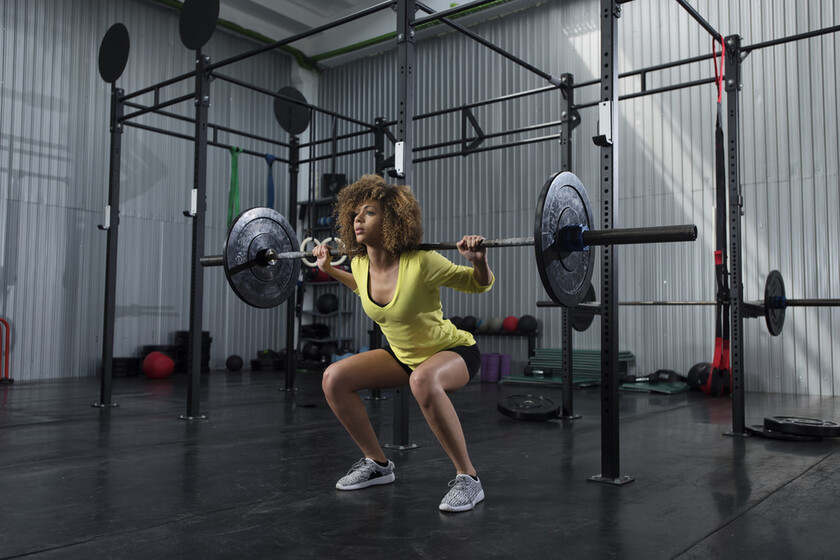 Three different types of squats to intensify butt and leg workout