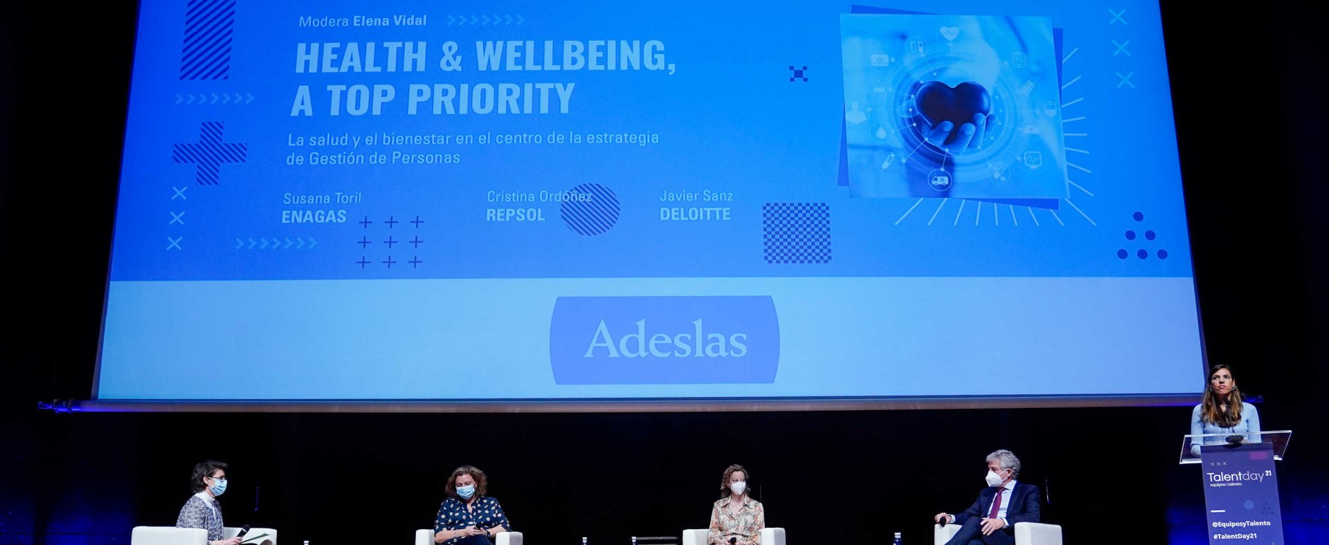 : Health and well-being are central to the people management strategy: