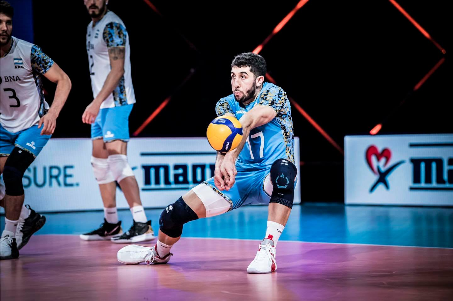 Nations Volleyball League: Argentina will face the United States