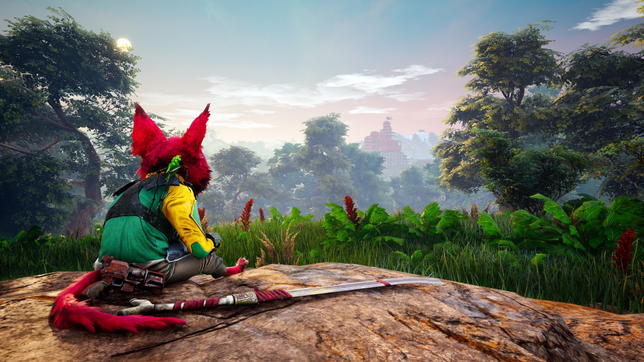 Biomutant shares more gameplay on the Xbox Series X and PlayStation 5, but they are not original releases