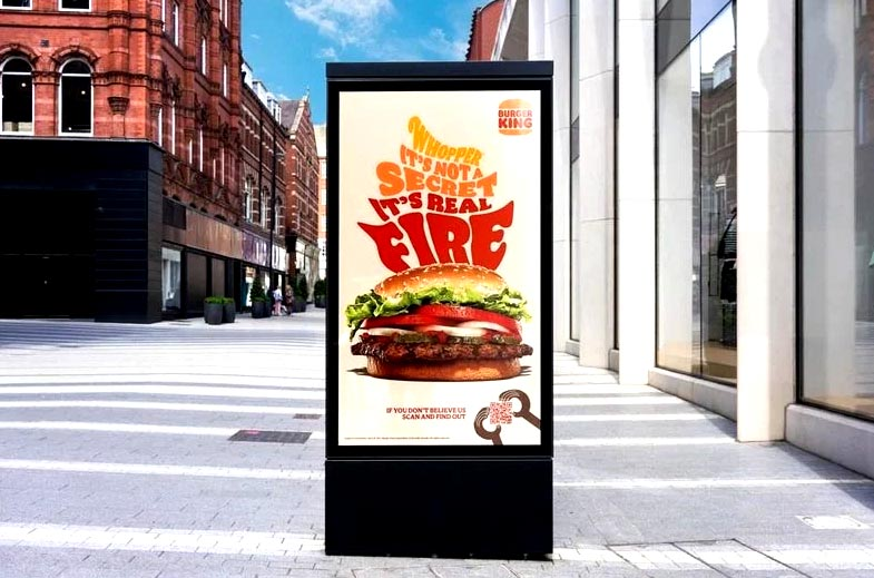 """Burger King uses """"smoke signals"""" to lure crowds into its stores"""