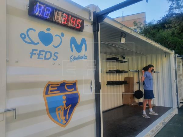 California-inspired container for student training |  Sports