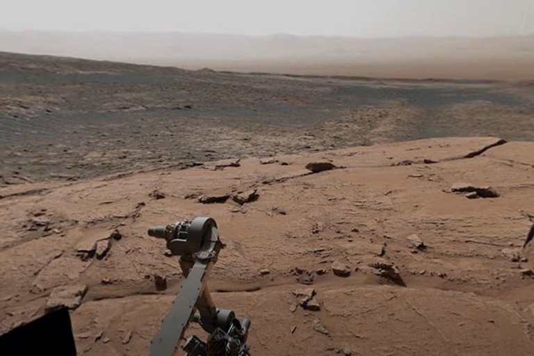China has managed to put a small robot on Mars