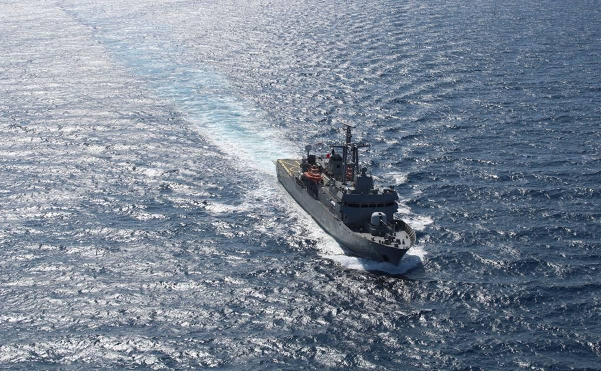 Cimar, the United States and Canada conduct joint naval operations in Baja California