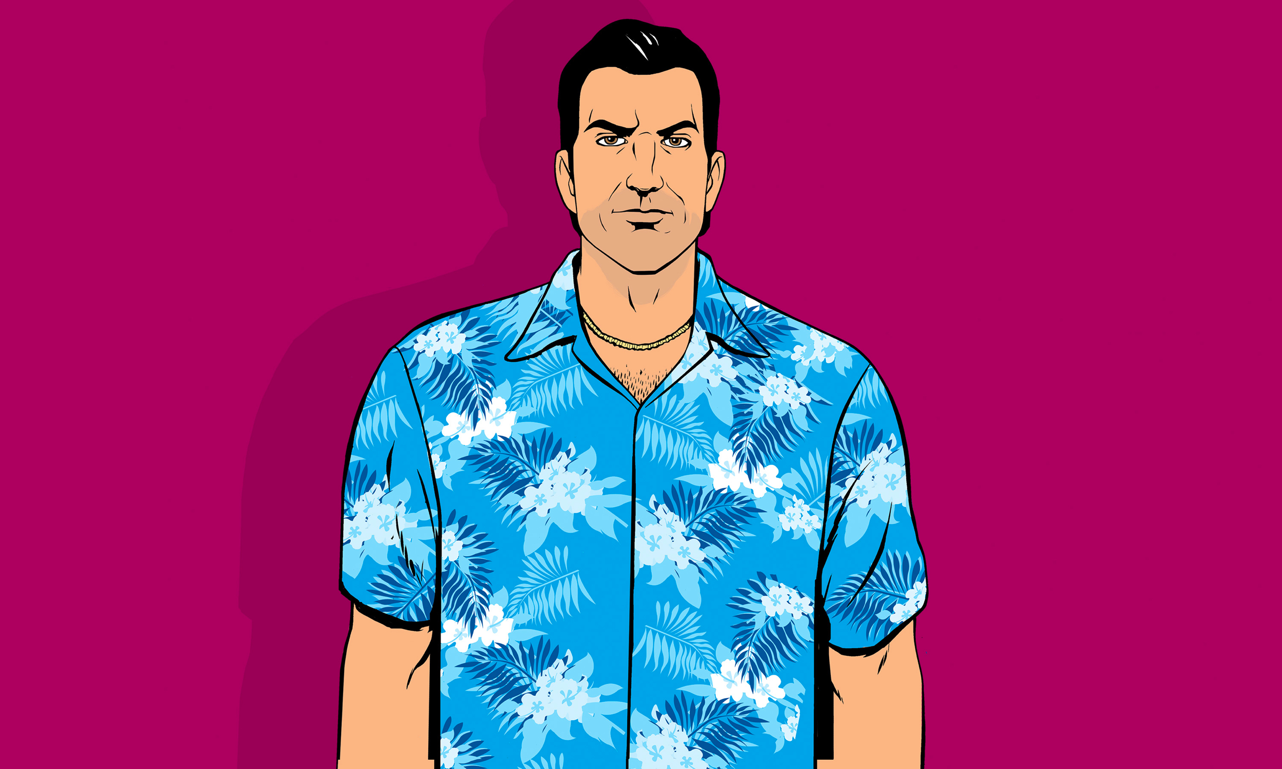 His potential map was leaked in Vice City