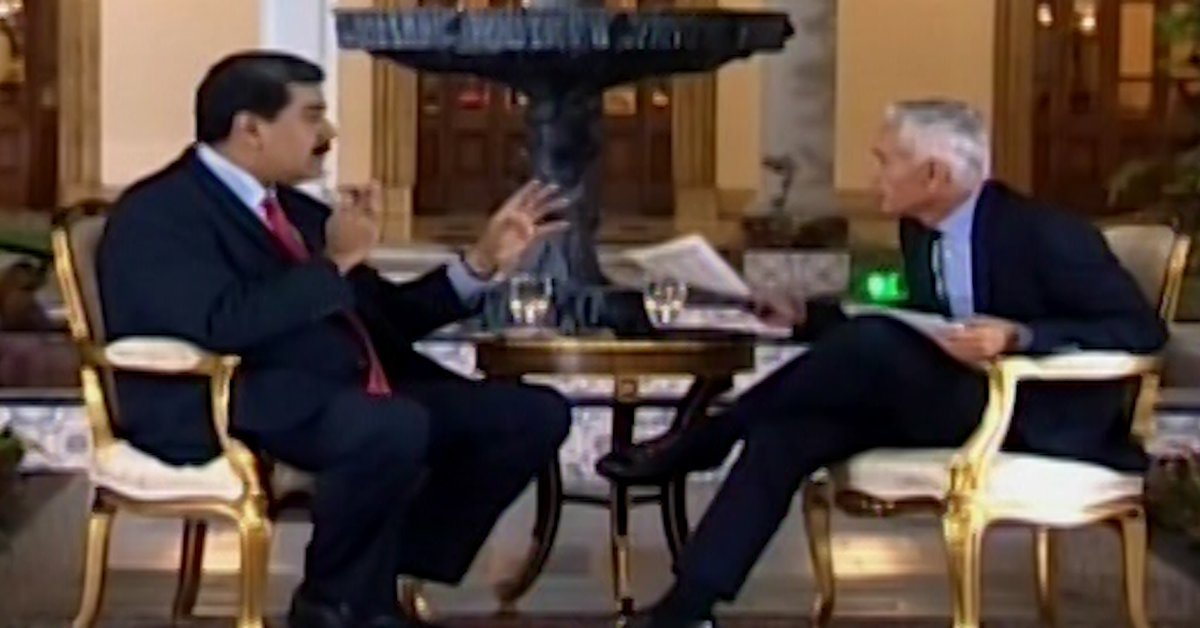 """Jorge Ramos """"17 Minutes with the Dictator"""" revealed the details of the interview that unleashed Nicolas Maduro's anger."""