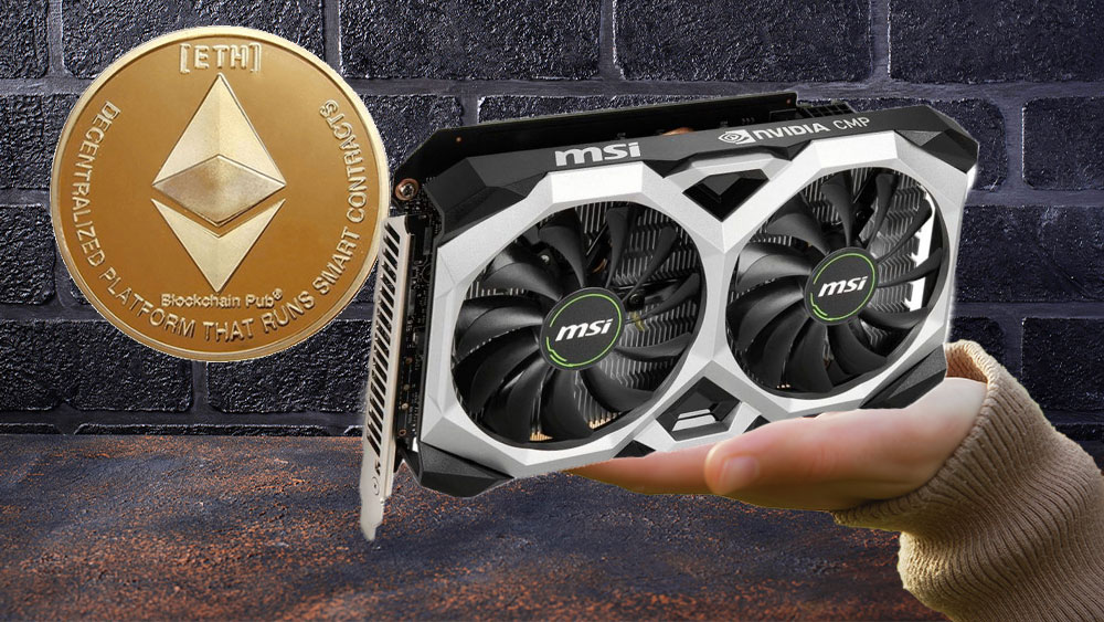 MSI released two Nvidia graphics cards for Ethereum mining