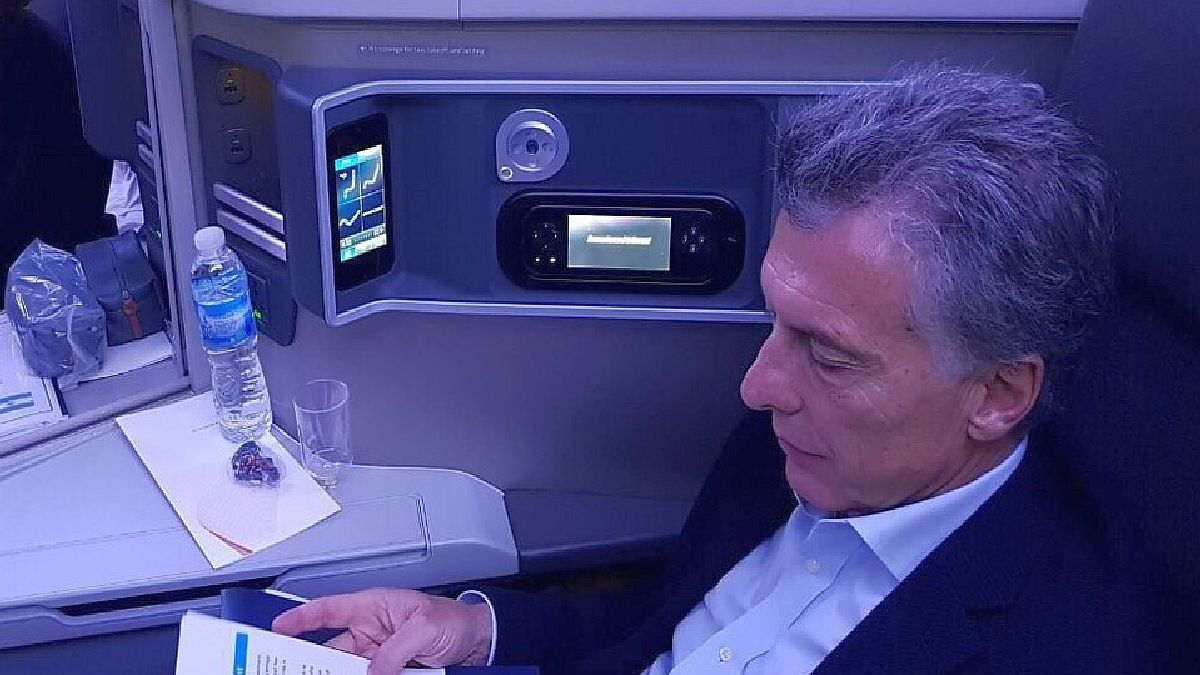 Macri traveled to Miami to give a face-to-face lecture to a neoliberal forum