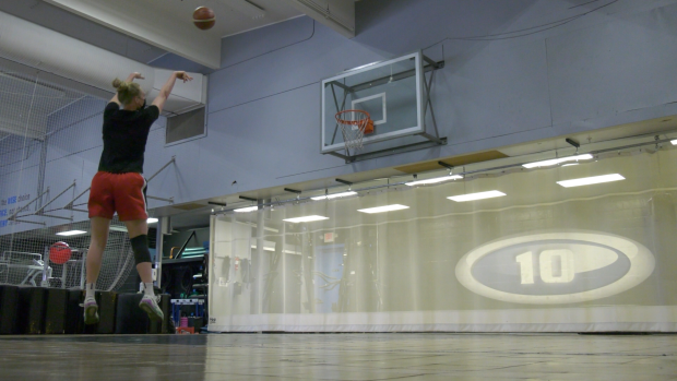 Regina Basketball Star vied to represent Canada in the Olympics