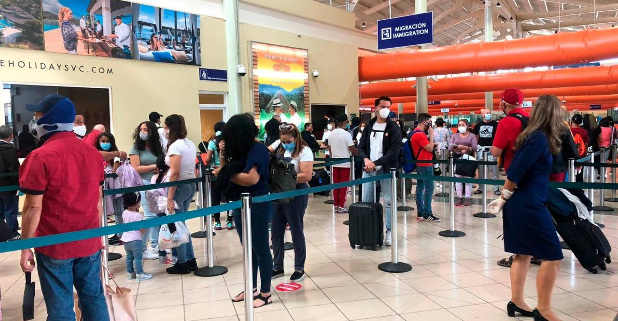 The Dominican Republic begins ordering PCR test travelers from Brazil, UK and South Africa