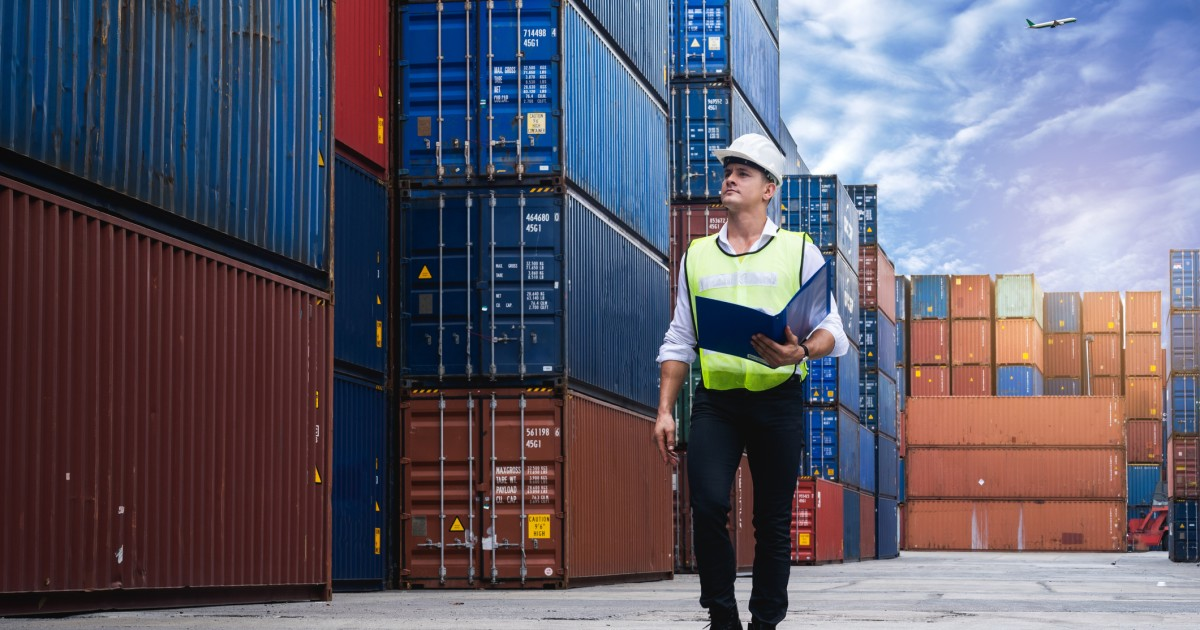 The United States recorded a record trade deficit in March.