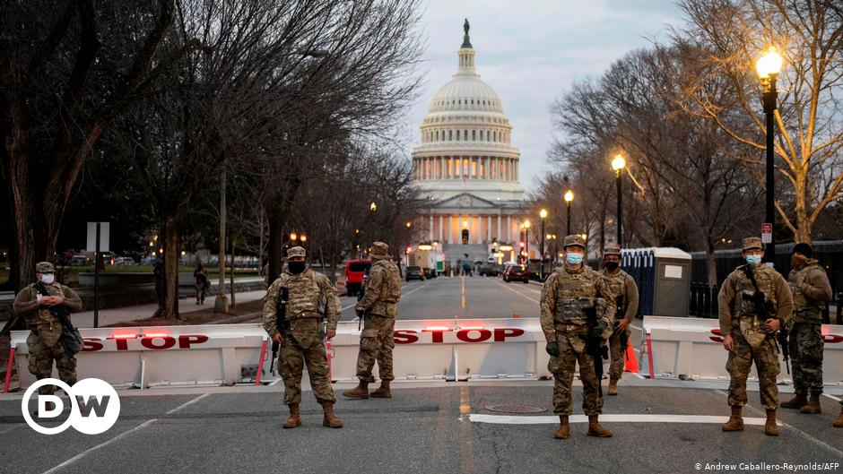 United States National Guard suspends presence on Capitol Hill |  The world |  DW