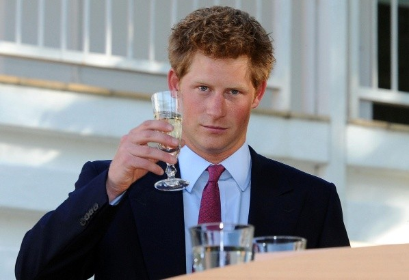 Prince Harry in his youth.  Image: (Getty)