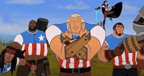 United States: The movie |  Netflix releases new trailer and poster for its animated movie about the American Revolution