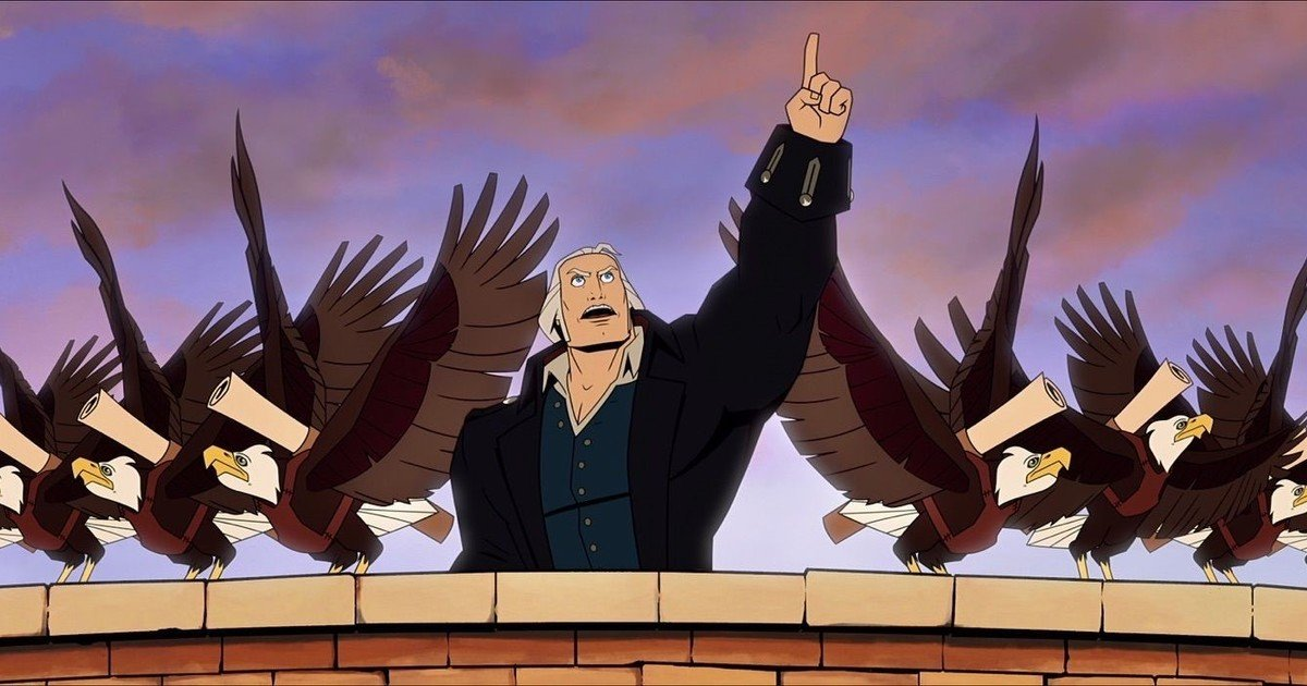 America's Founding Fathers are superheroes in an extraordinary film about the revolution