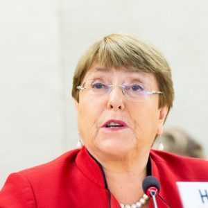 """Michelle Bachelet spoke at the United Nations of """"extreme human rights concern"""" in Formosa"""