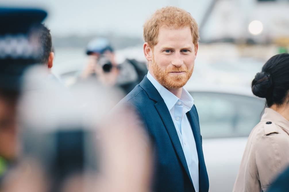 Prince Henry arrives in the UK to unveil a statue of Diana Wells on 1 July |  people |  entertainment