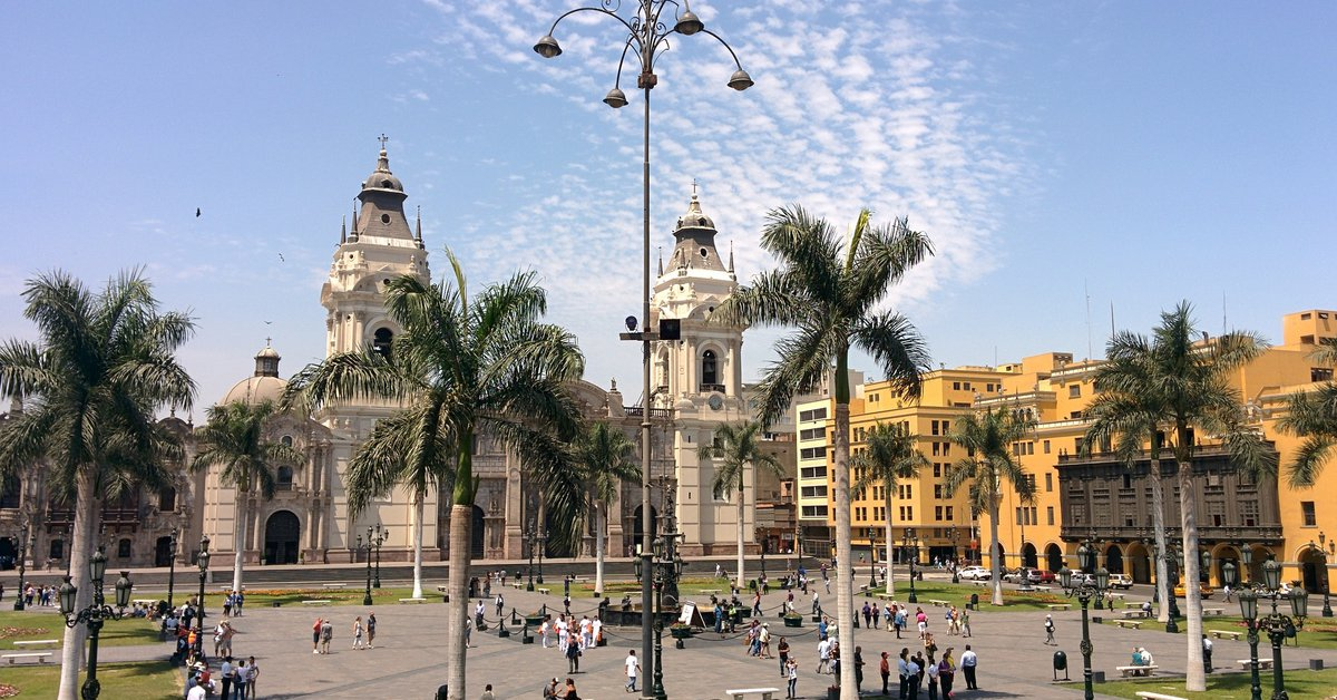 An earthquake measuring 6.0 on the Richter scale struck the capital of Peru