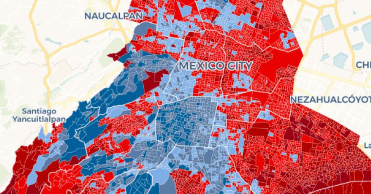 CDMX Election Results: See here which party won in your areaمنطق
