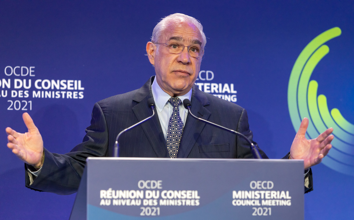 Jose Angel Guria says goodbye to the OECD;  Leaders get to know their work