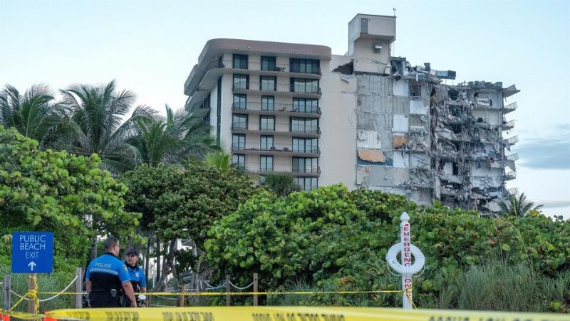 Miami building collapsed: there is at least one meter …
