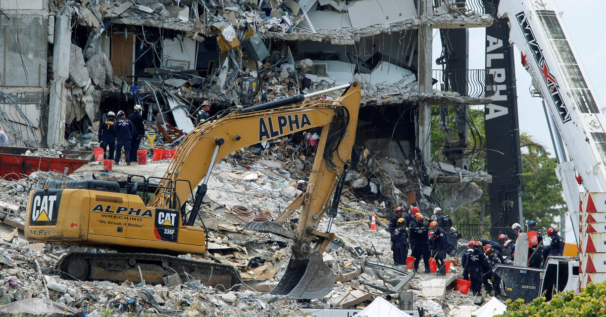 Miami landslide: new victim confirmed and hope of finding people alive under the rubble dwindles